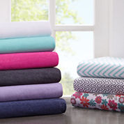 Intelligent Design Cotton Blend Jersey Sheet Set