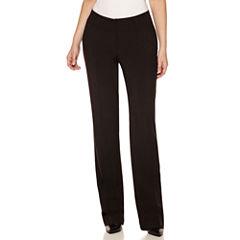 Worthington® Curvy-Fit Straight-Leg Pants