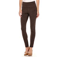 Liz Claiborne® Secretly Slender™ Ankle Leggings