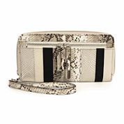 Nicole By Nicole Miller Kaitlin Large Zip Around Wallet