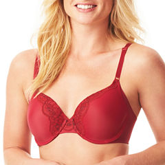 Warners No Side Effects Lace Underwire T-Shirt Bra - RF9561A