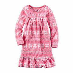 Carter's Girl Pink Fair Gown 2-5