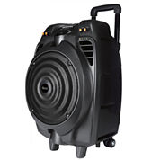 IQsound IQ-3014DJBT 8 in. Portable/Rechargeable Bluetooth DJ Speaker
