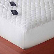 Micro Flannel Heated Mattress Pad