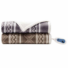 Woolrich Anderson Berber Heated Throw