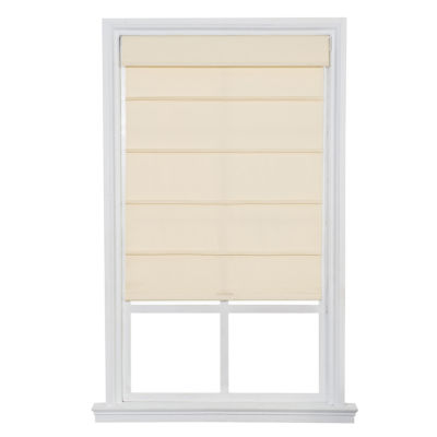 jcpenney home cordless cotton twill roller roman shades