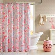 Intelligent Design Daniela Microfiber Shower Curtain