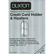 Buxton Window Book Credit Card Holder