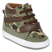 Okie Dokie Boys Crib Shoes-Baby