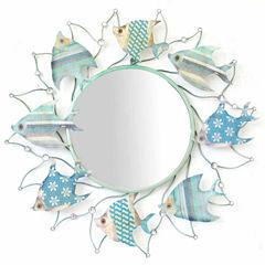 Fish Circling Mirror
