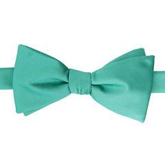 Stafford® Satin Solid Pre-Tied Bow Tie
