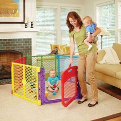 North States Superyard Colorplay Ultimate Baby Gate