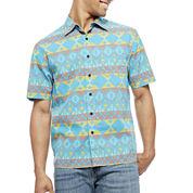 Arizona Short-Sleeve Button-Front Shirt