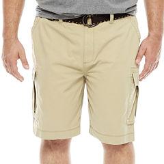 The Foundry Big & Tall Supply Co. Twill Cargo Shorts