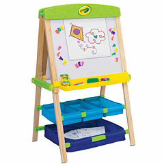 Grow'N Up Crayola Draw'N Store Wood Kids Easel