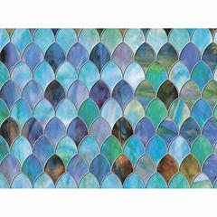 24in x 47in Peacock Window Premium Film