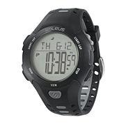 Soleus Contender Mens Black Digital Running Watch