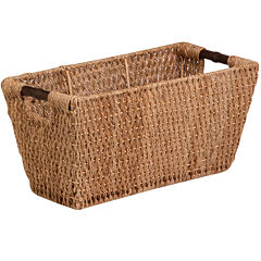 Honey-Can-Do® Large Seagrass Basket with Handles