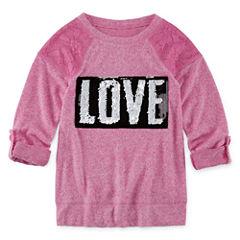 Total Girl Tunic Sweatshirt - Big Kid