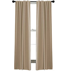 Saville Rod-Pocket Back-Tab Curtain Panel