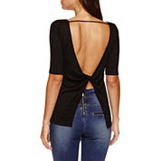 Bisou Bisou Twist Open Back Top