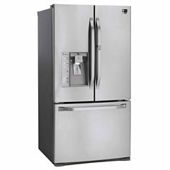 LG ENERGY STAR® 23.5 cu. ft. Counter-Depth French Door Refrigerator with Door-in-Door®