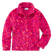 Columbia Girls Lightweight Fleece Jacket