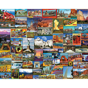Best Places In America 1000 Piece Jigsaw Puzzle