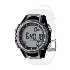 Rbx Unisex White Strap Watch-Rbxpd001cl