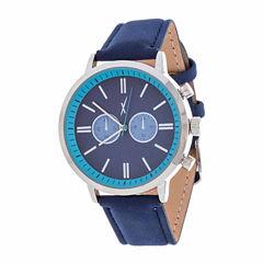 Xtreme Time Mens Silver Tone Bracelet Watch-Nwl389087bl