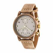 Xtreme Time Mens Brown Bracelet Watch-Nwl413897bg-Bg