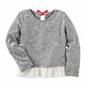 Oshkosh Long Sleeve T-Shirt-Toddler Girls