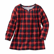 Oshkosh Long Sleeve A-Line Dress - Toddler