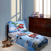 Disney 4-pc. Planes Toddler Bedding Set