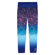 Reebok Solid Knit Ombre Leggings - Preschool