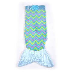 As Seen On TV Blue Mermaid Snuggie Tail