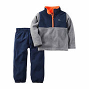 Carter's Boys 2-pc. Long Sleeve Pant Set-Baby