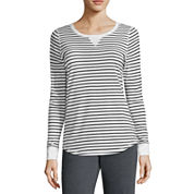 Made for Life™ Long-Sleeve Striped Tee