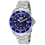 Invicta Mens Silver Tone Bracelet Watch-9094ob