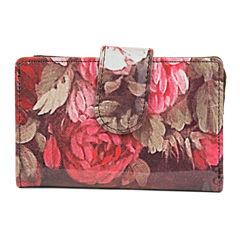 Mundi S&P Romantic Floral RFID Blocking Indexer Wallet