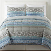 Home Expressions Leah 3-pc. Comforter Set