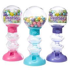 Sweet N Fun Spiral Fun Gumball Machines with Gumballs - Set of 3