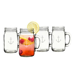 Cathy's Concepts Anchor Old Fashioned 4-pc. Drinkware Set