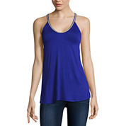 Bold Elements® Beaded V-Neck Top
