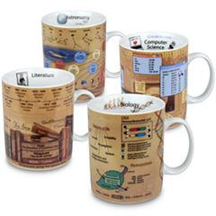 Konitz Knowledge II Set of 4 Mugs