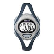 Timex® Ironman Womens Blue Resin Strap 50-Lap Watch T5K4519J
