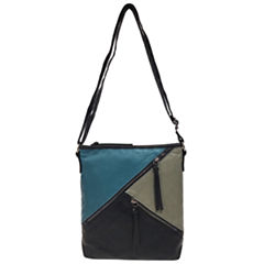 St. John's Bay Diagonal Zip Crossbody Bag