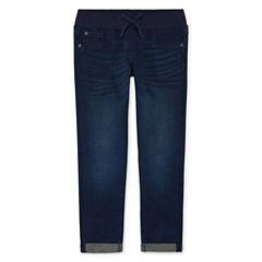 Arizona Knit Cropped Pants Girls