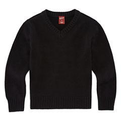 Arizona V-Neck Long Sleeve Pullover Sweater - Preschool 4-7