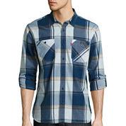 Levi'S Long Sleeve Chalk Woven Button-Front Shirt